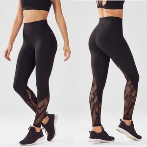 Fabletics Demi Lovato HW Powerhold Mesh Leggings